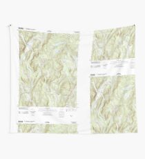USGS TOPO Map Connecticut CT Kent 20120523 TM Wall Tapestry
