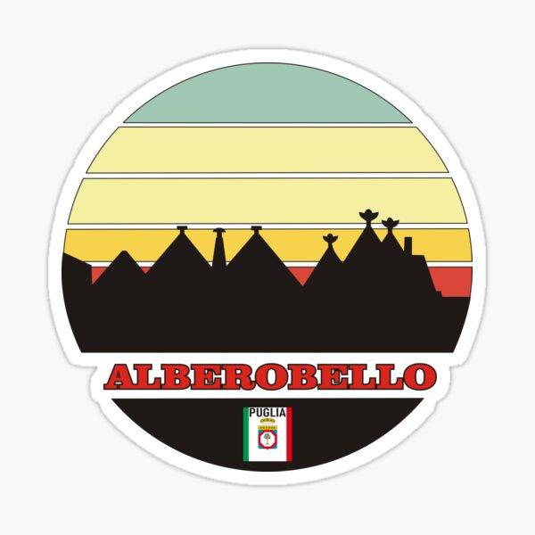 Alberobello Puglia Sticker