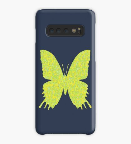 #DeepDream Lemon Lime color Butterfly Case/Skin for Samsung Galaxy