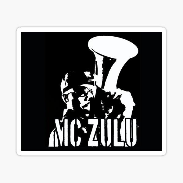 MC ZULU (Logo Print) Sticker