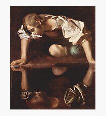 SCENE Caravaggio, Narcissus  Photographic Print