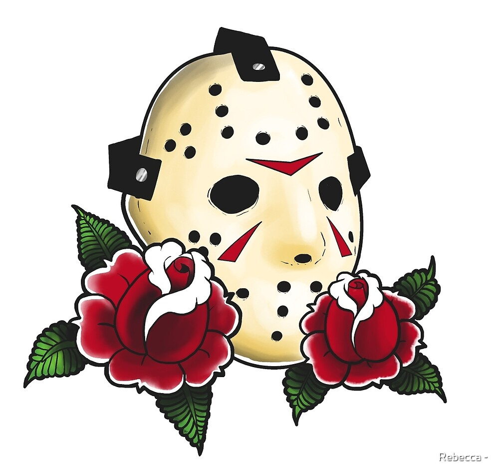 Quot Jason Voorhees Quot By Rebecca Redbubble