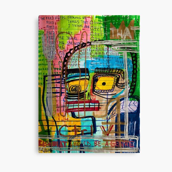 The Feed Canvas Print