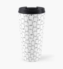 Otter pattern Travel Mug