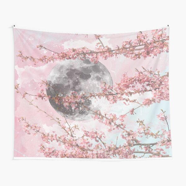 Spring Moon Tapestry
