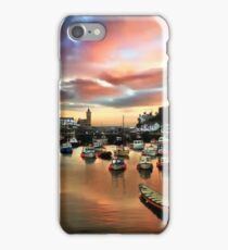 Porthleven Harbour iPhone Case/Skin