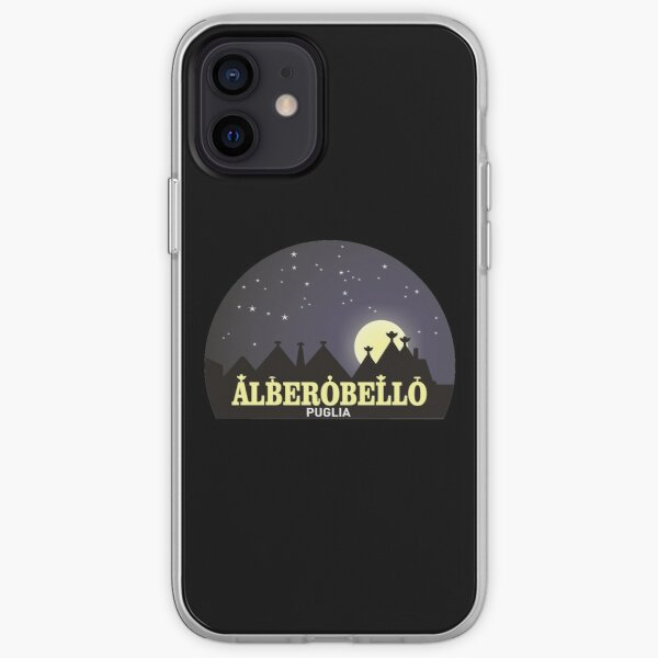 Puglia Alberobello trulli iPhone Soft Case