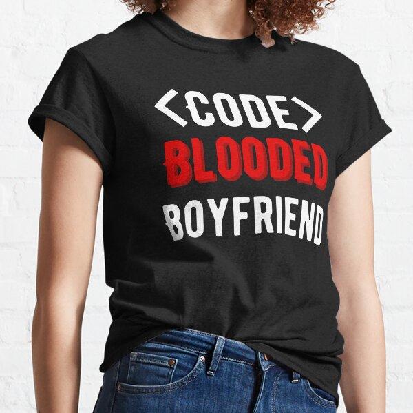 Novio de sangre de código Camiseta clásica