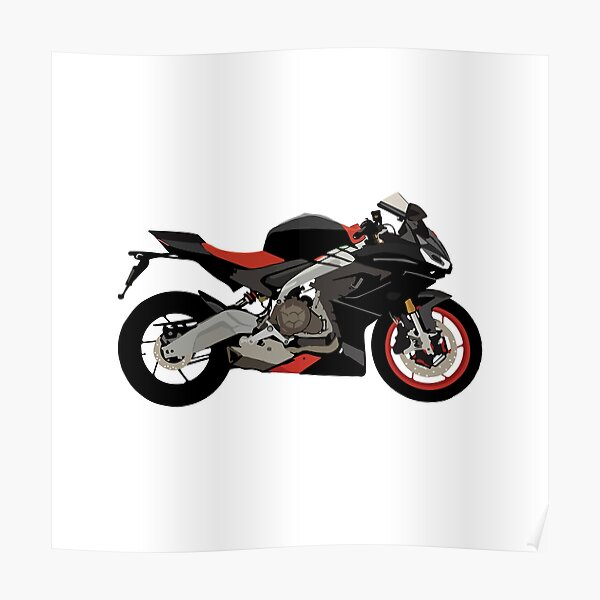 Motorcycle Aprilia RS 660 Poster