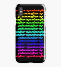 Another Dimension (neon) iPhone Case/Skin