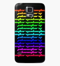 Another Dimension (neon) Case/Skin for Samsung Galaxy