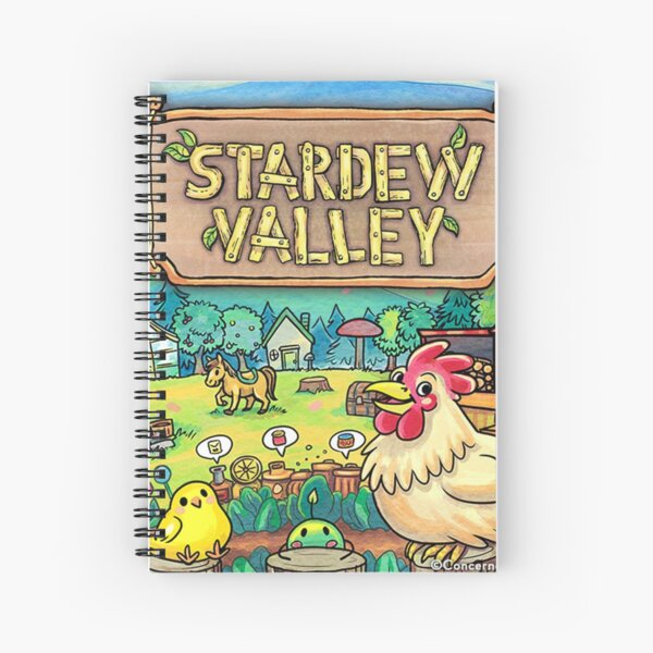 Stardew Valley - Indie Game Spiral Notebook