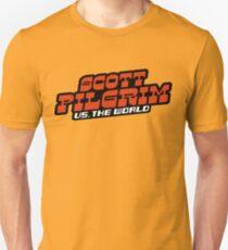 Scottpilgrim vs the world logo Slim Fit T-Shirt