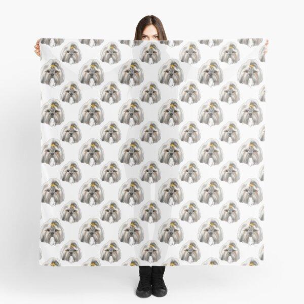 Lottie White Blanket Scarf