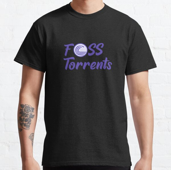 FOSS Torrents Official Logo Classic T-Shirt