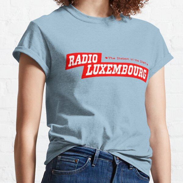 Radio Luxembourg! T-shirt classique