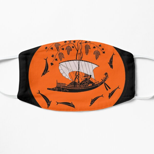 Dionysus and the Pirates, the Dionysus Cup by Exekias Flat Mask