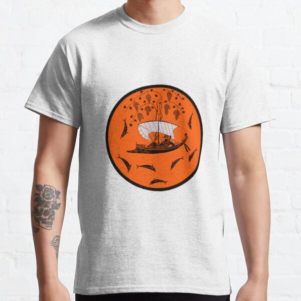 Dionysus and the Pirates, the Dionysus Cup by Exekias Classic T-Shirt