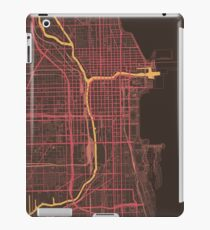 Chicago Map (Summer) iPad Case/Skin