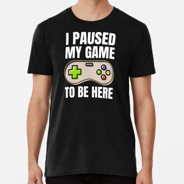 Play High Space T-Shirt Astronaut Video Game Console Funny Galaxy Gamer D680LS