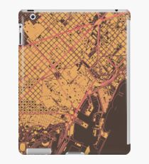 Barcelona Map (Summer) iPad Case/Skin