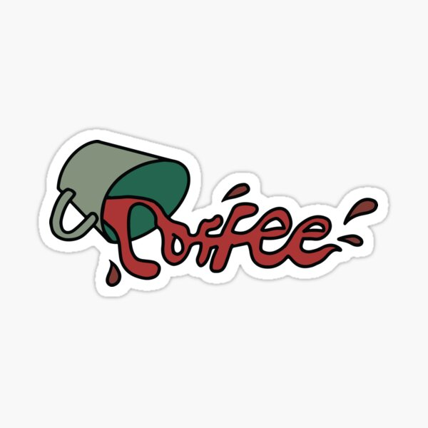 Need coffee? Sticker