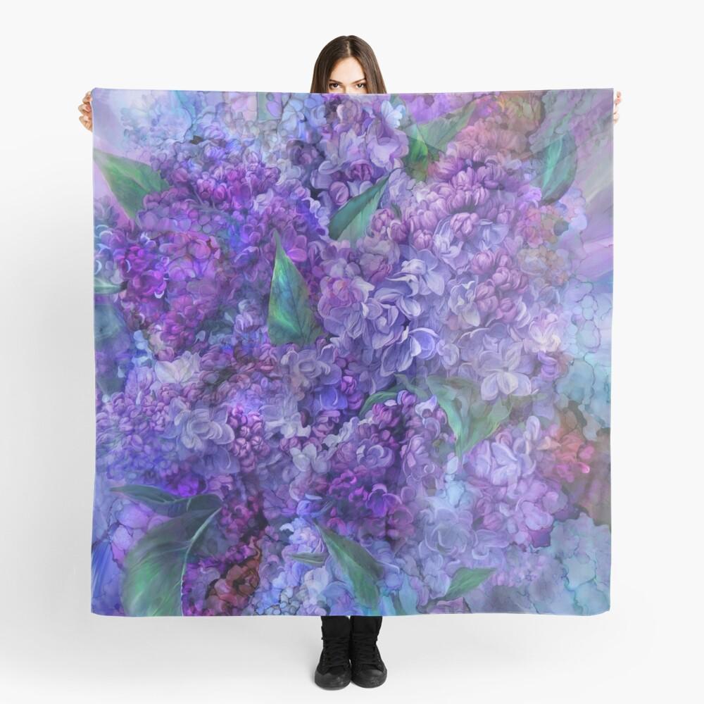 Wild Lilacs Scarf