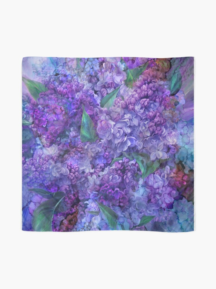 Alternate view of Wild Lilacs Scarf