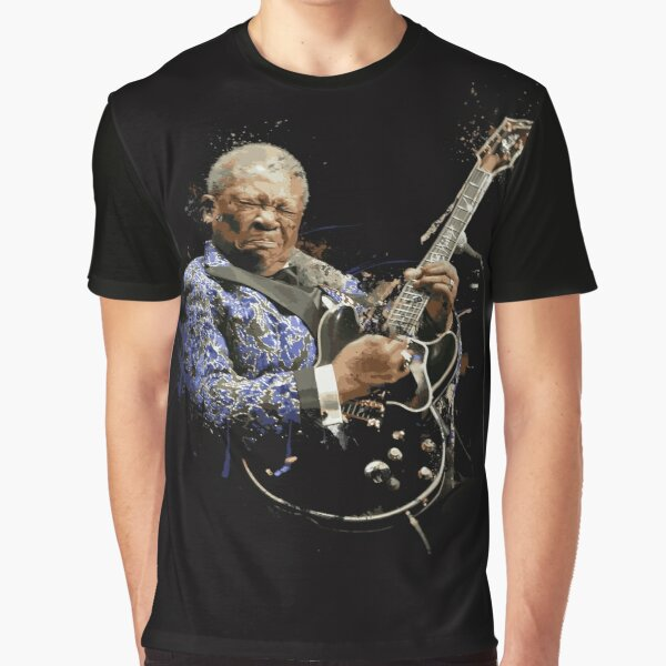 Digital painting of legend BB King Graphic T-Shirt