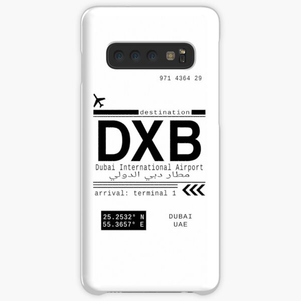 DXB Dubai International Airport Call Letters Samsung Galaxy Snap Case