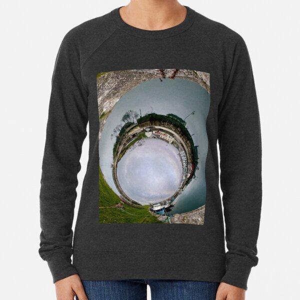 Hurry Head Harbour, Carnlough, County Antrim - Sky In Lightweight Sweatshirt