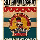 30th Anniversary Logo by cmcircus