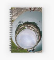 Hurry Head Harbour, Carnlough, County Antrim - Sky In Spiral Notebook