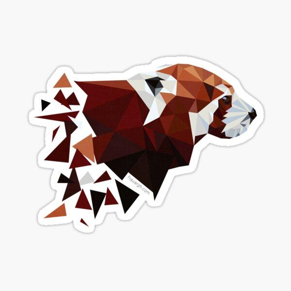 Red Panda I Sticker