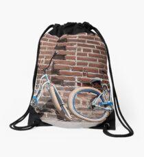 Fat Tires Drawstring Bag