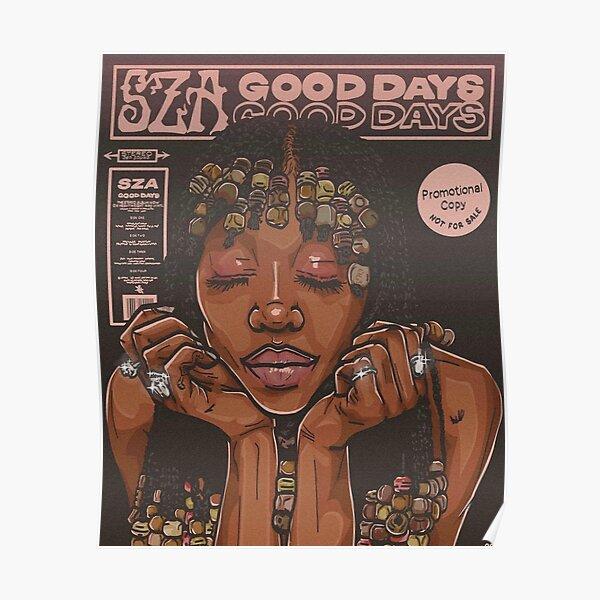 SZA Goodays Poster