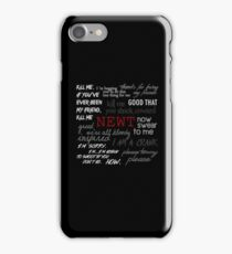 Memorial to Newt iPhone Case/Skin