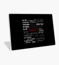 Memorial to Newt Laptop Skin
