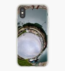 Hurry Head Harbour, Carnlough, County Antrim - Sky In iPhone Case