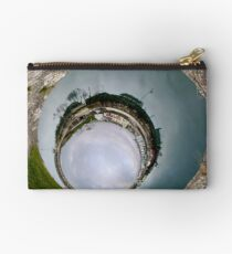 Hurry Head Harbour, Carnlough, County Antrim - Sky In Studio Pouch