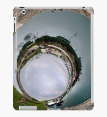 Hurry Head Harbour, Carnlough, County Antrim - Sky In iPad Case/Skin