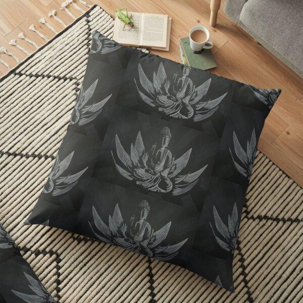 Copie de Avatar Neytiri Chalk Drawing 2020 Floor Pillow