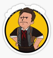 Booker catch! Bioshock Infinite Sticker