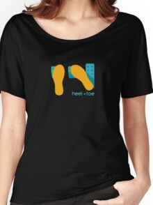 heel toe Women's Relaxed Fit T-Shirt