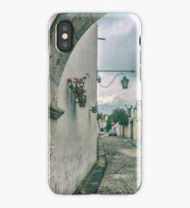 Colonial Street of Arequipa City Peru iPhone Case/Skin