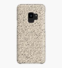 Literature in Print: Pride and Prejudice Case/Skin for Samsung Galaxy