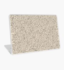 Literature in Print: Pride and Prejudice Laptop Skin
