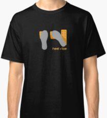 heel toe Classic T-Shirt