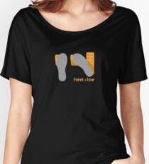 heel toe Women's Relaxed Fit T-Shirt