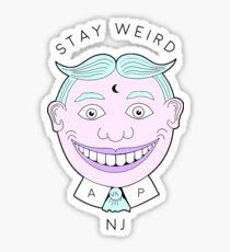 Stay Weird, NJ.  Sticker